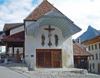 Switzerland / Suisse / Schweiz / Svizzera -  Gruyères: Le Calvaire / chapelle domestique (photo by Christian Roux)