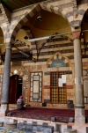 Damascus, Syria: Sinan mosque - praying - photographer: John Wreford