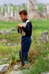 Syria - Afamia / Apamea: shepherd (photo by J.Wreford)