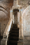 Crac des Chevaliers / Hisn al-Akrad, Al Hosn, Homs Governorate, Syria: minbar - Islamic pulpit - UNESCO World Heritage Site - photo by M.Torres /Travel-Images.com