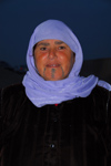 Palmyra / Tadmor, Homs governorate, Syria: bedouin lady with facial painting - photo by M.Torres / Travel-Images.com