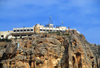 Maaloula - Rif Dimashq governorate, Syria: - Maaloula hotel, over a cliff - photo by M.Torres / Travel-Images.com