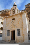 Maaloula - Rif Dimashq governorate, Syria: Mar Taqla convent - the church - photo by M.Torres / Travel-Images.com