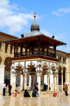 Syria - Damascus: Omayyad Mosque - ablution fountain - photographer: M.Torres
