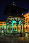 Syria - Damascus: Omayyad Mosque - ablution fountain - at night - Masjid Umayyad - photographer: M.Torres