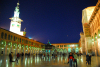 Syria - Damascus: Omayyad Mosque - the courtyard - looking east - nocturnal - Masjid Umayyad - photographer: M.Torres