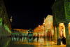 Syria - Damascus: Omayyad Mosque - courtyard and treasury - nocturnal  - Masjid Umayyad - photographer: M.Torres