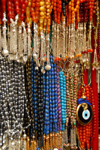 Damascus, Syria - Souq Al Hamidiyeh - Islamic prayer beads and evil eye amulet - photo by M.Torres / Travel-Images.com