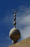 Damascus, Syria: crescent - detail of Al-A'rishah mosque, eastern end of Via Recta, Zaitouna street - photographer: M.Torres
