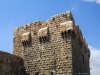 Syria - Damascus: tower on the northern side of the walls, near Bab Al-Faraj - Ancient City of Damascus - Unesco World Heritage site - photo by  M.Torres
