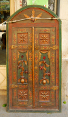 Damascus, Syria: doors waiting for a home - doors for sale - Via Recta - photographer: M.Torres