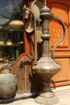 Damascus, Syria: giant tea pot at an antiques shop - Via Recta - photographer: M.Torres