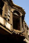 Damascus, Syria: veranda of a house in ruins - Via Recta - photographer: M.Torres