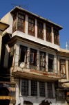 Damascus, Syria: old building - eastern end of Via Recta - houses of damascus - photographer: M.Torres