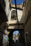 Syria - Damascus: narrow streets of the old city - photographer: M.Torres