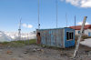 Tajikistan - Pamir mountains: radio antennas - photo by A.Nilsson