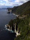 Australia - Tasmania - Tasman National Park: coastline (photo by  M.Samper)