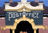 Hobart, Tasmania, Australia: Hobart North Post Office - portal - photo by A.Bartel