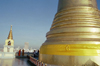 Bangkok / Krung Thep, Thailand: stupa on the Golden Mount - photo by J.Kaman