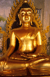 Thailand - Chiang Mai: Buddha at the moment of illumination - Wat Phrathat Doi Suthep - religion - Buddhism - photo by W.Allg�wer