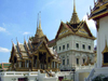 Bangkok / Krung Thep, Thailand: pavillions in the Grand Palace - photo by B.Jackson