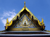 Bangkok / Krung Thep, Thailand: Grand Palace - gable detail - photo by B.Jackson