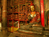 Tibet - Gyantse: Palkhor monastery - Buddha at the library - photo by P.Artus