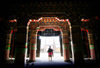 Tibet - temple - stepping into the light - photo by Y.Xu
