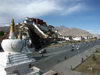 Tibet - Lhasa: the Potala Palace, Zhol square and stupas - photo by P.Artus