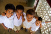 Tonga - Tongatapu - Nuku'alofa: four young boys - photo by D.Smith