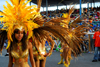 Port of Spain, Trinidad and Tobago: masqueraders cross the stage at the Queen's Park Savannah during the carnival parade - VIP stand - costume band parade - photo by E.Petitalot