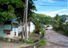 Trinidad - Port of Spain: a side road - photo by P.Baldwin
