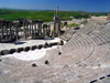 Tunisia - Dougga: general view of the Theatre (photo by J.Kaman)