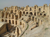 El Jem: the Roman Coliseum - ruins - Unseco world heritage site (photo by J.Kaman)