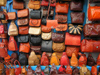 image of Tunisia - Sidi Bou Said: leather products (photo by J.Kaman)