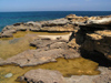 El Haouaria - Cap Bon: coastal pools - photo by J.Kaman
