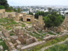 Carthage: city remains at Byrsa Hill (photo by J.Kaman)