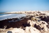 Tunisia - Jerba Island - Ras Taguermes: rocky beach (photo by M.Torres)