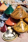Tunisia / Tunisie / Tunisien - Jerba Island - Houmt Souq: tagines at the market (photo by M.Torres)