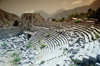 Turkey - Termessos, Antalya province: the theatre - Solymos mountain - G�ll�k Dagi - photo by J.Kaman
