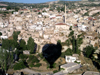 Turkey - Cappadocia - Goreme: balloon over the town - photo by R.Wallace