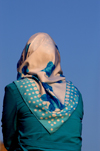 Istanbul, Turkey: Turkish muslim woman with hijab / scarf - photo by J.Wreford