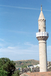 Turkey - Bodrum: minaret - St. Peter's crusaders castle - photo by M.Bergsma