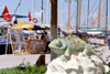 Turkey - Bodrum: chameleon in the marina - Gaudi wanabee - photo by M.Bergsma