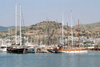 Turkey - Bodrum: yachts in the marina - photo by M.Bergsma