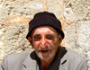 Mardin, Southeastern Anatolia, Kurdistan,Turkey: old man at the Syrian Orthodox monastery - photo by C. le Mire