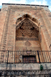 Mardin - Kurdish area, Southeastern Anatolia, Turkey: detail of the Sultan Isa madrassa - photo by C. le Mire