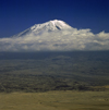 Mount Ararat / Aragats / Çiyayê Agiri, Agri Province, East Anatolia, Turkey: Great Ararat resting place of Noah's ark - photo by W.Allgöwer