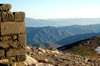 Turkey - Mt Nemrut: view of the Taurus mountains - wall - photo by C. le Mire