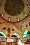Turkey - Konya: mosque's dome - interior - photo by C.Roux